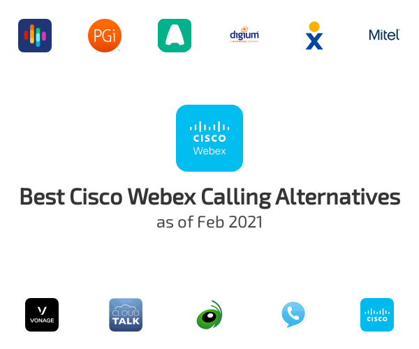 Best Cisco Webex Calling Alternatives