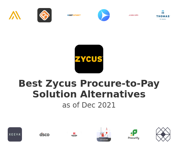 Best Zycus Procure-to-Pay Solution Alternatives