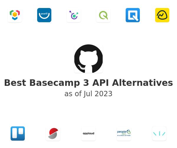 Best Basecamp 3 API Alternatives