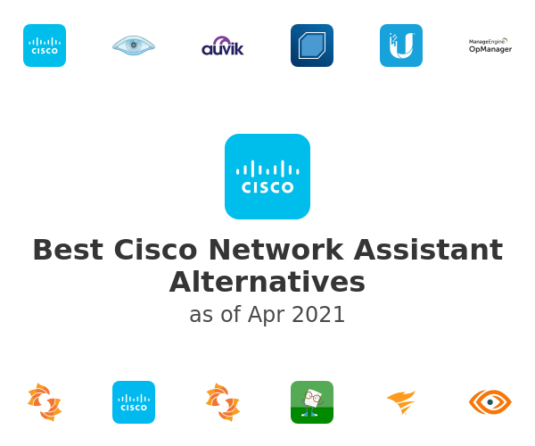 Best Cisco Network Assistant Alternatives