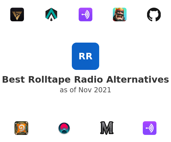 Best Rolltape Radio Alternatives