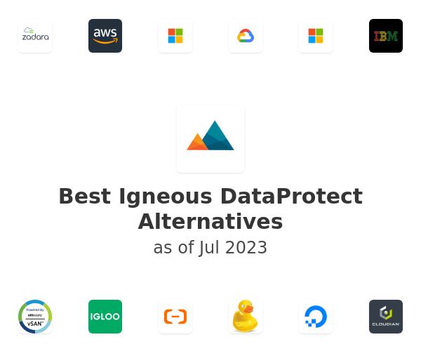 Best Igneous DataProtect Alternatives