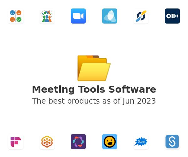 Meeting Tools Software