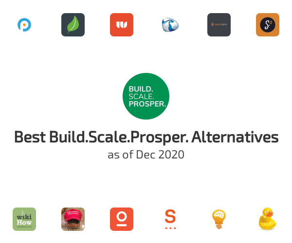 Best Build.Scale.Prosper. Alternatives