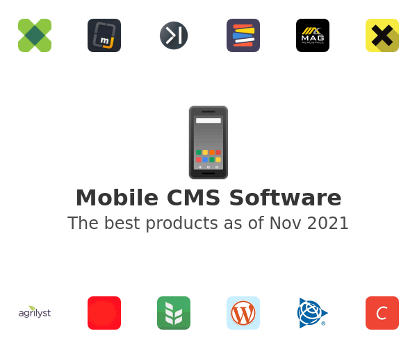 Mobile CMS Software