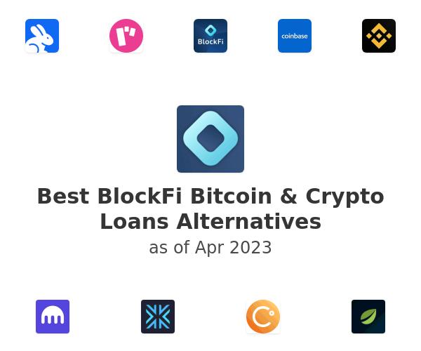 Best BlockFi Bitcoin & Crypto Loans Alternatives