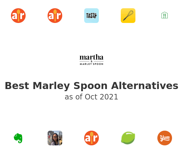 Best Marley Spoon Alternatives