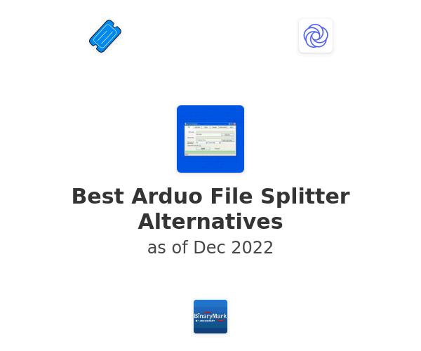 Best Arduo File Splitter Alternatives