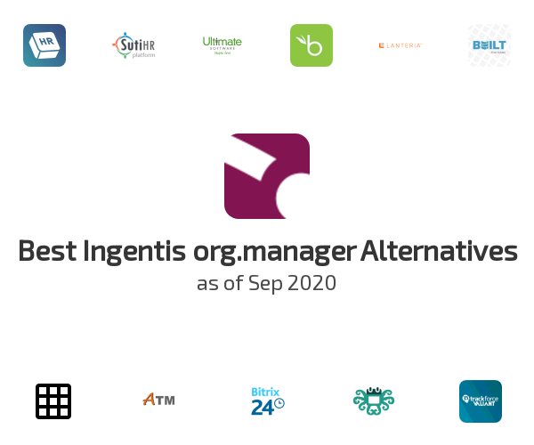 Best Ingentis org.manager Alternatives
