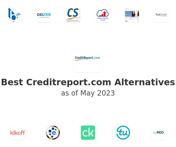 Best Creditreport.com Alternatives