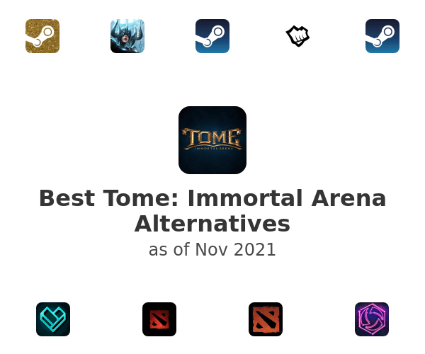 Best Tome: Immortal Arena Alternatives