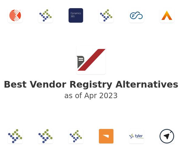 Best Vendor Registry Alternatives