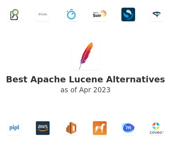 Best Apache Lucene Alternatives