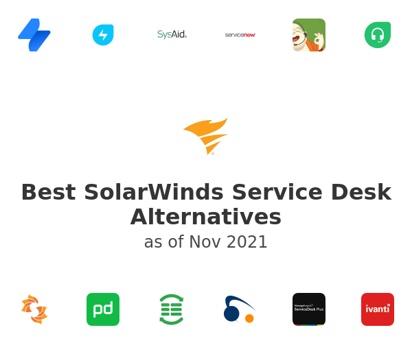 Best SolarWinds Service Desk Alternatives