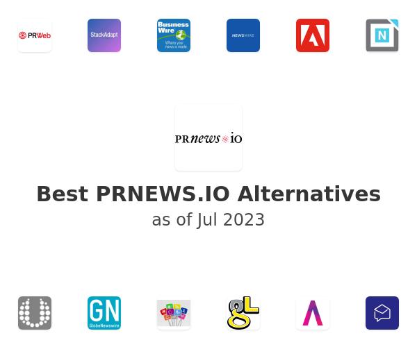 Best PRnews.io Alternatives