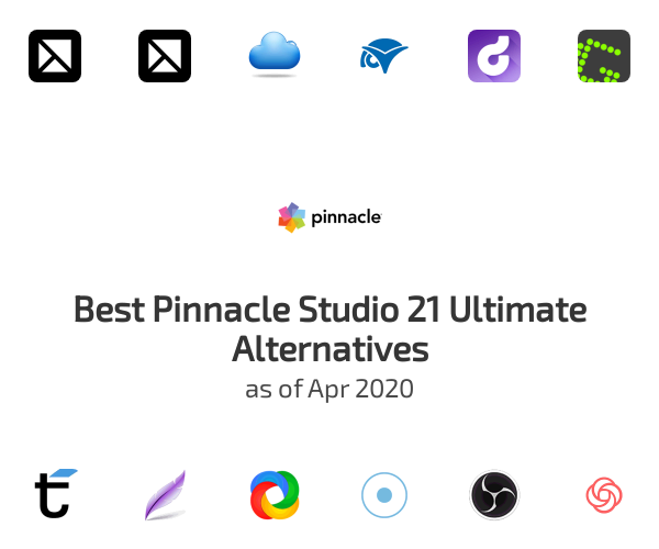 Best Pinnacle Studio 21 Ultimate Alternatives