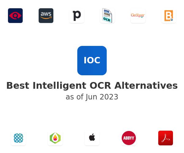 Best Intelligent OCR Alternatives