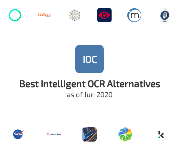 Best Intelligent OCR Alternatives