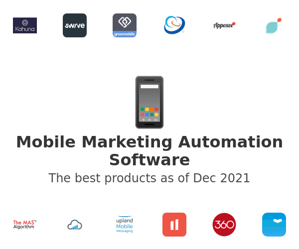Mobile Marketing Automation Software