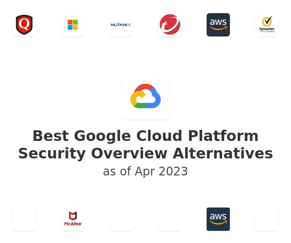 Best Google Cloud Platform Security Overview Alternatives