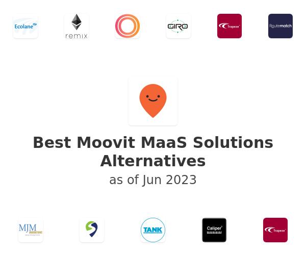 Best Moovit MaaS Solutions Alternatives