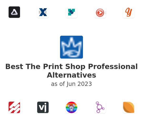 Best The Print Shop Professional Alternatives