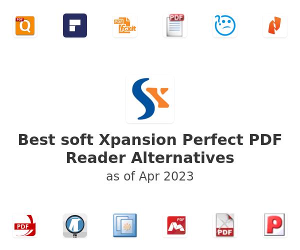 Best soft Xpansion Perfect PDF Reader Alternatives