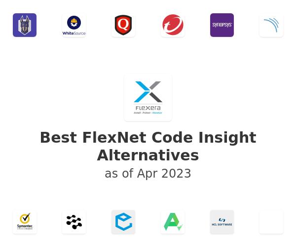 Best FlexNet Code Insight Alternatives