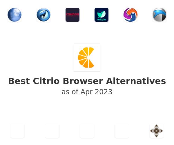 Best Citrio Browser Alternatives