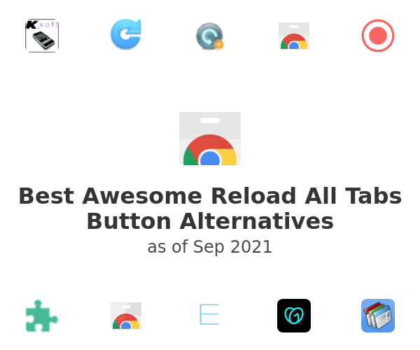Best Awesome Reload All Tabs Button Alternatives