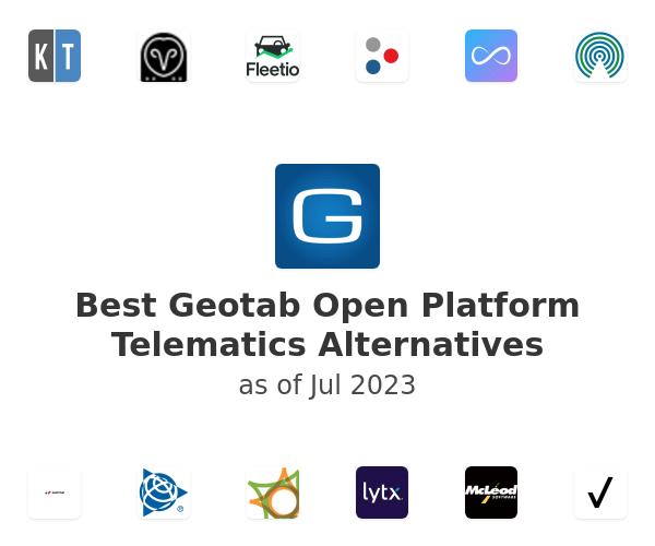 Best Geotab Open Platform Telematics Alternatives