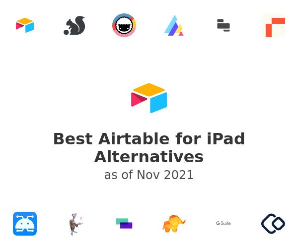 Best Airtable for iPad Alternatives