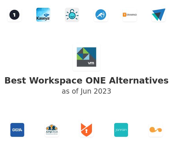 Best Workspace ONE Alternatives