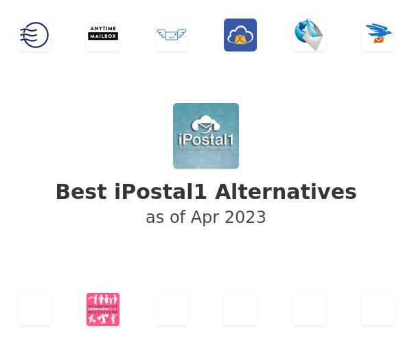 Best iPostal1 Alternatives