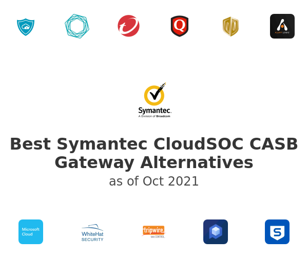 Best Symantec CloudSOC CASB Gateway Alternatives