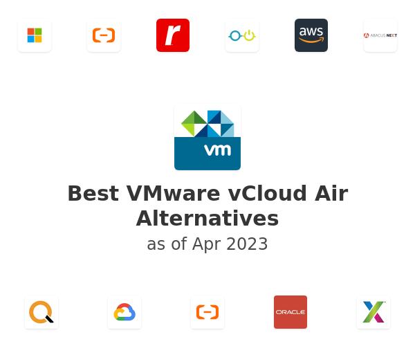 Best VMware vCloud Air Alternatives