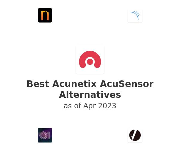 Best Acunetix AcuSensor Alternatives