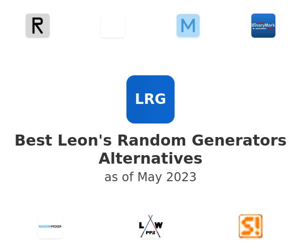 Best Leon's Random Generators Alternatives