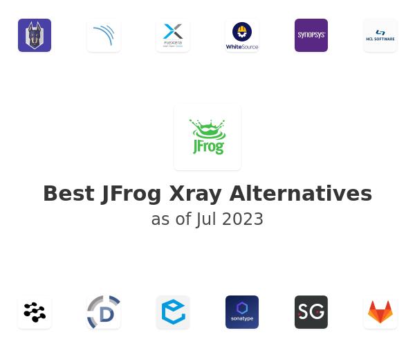 Best JFrog Xray Alternatives