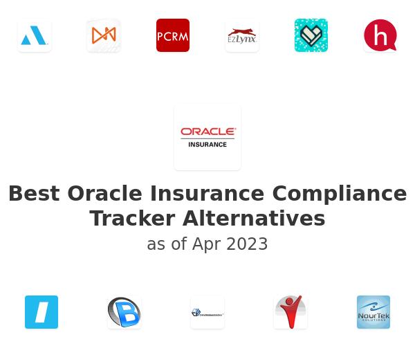 Best Oracle Insurance Compliance Tracker Alternatives
