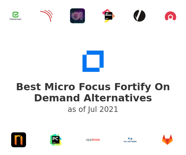 Best Micro Focus Fortify On Demand Alternatives