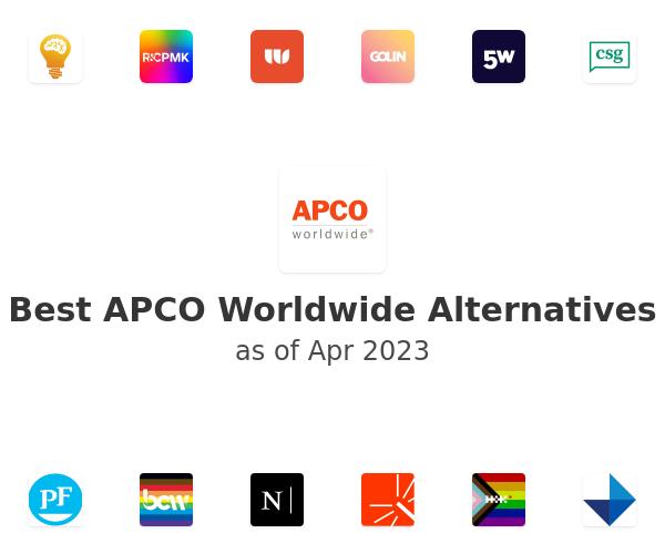 Best APCO Worldwide Alternatives