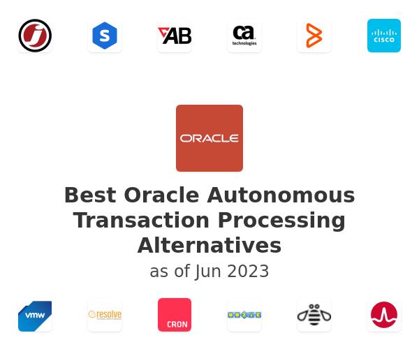 Best Oracle Autonomous Transaction Processing Alternatives