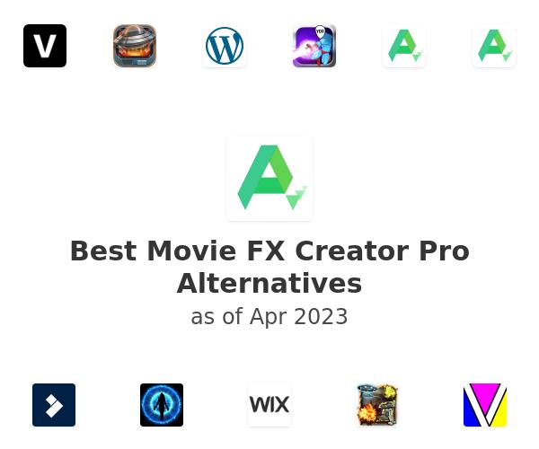 Best Movie FX Creator Pro Alternatives