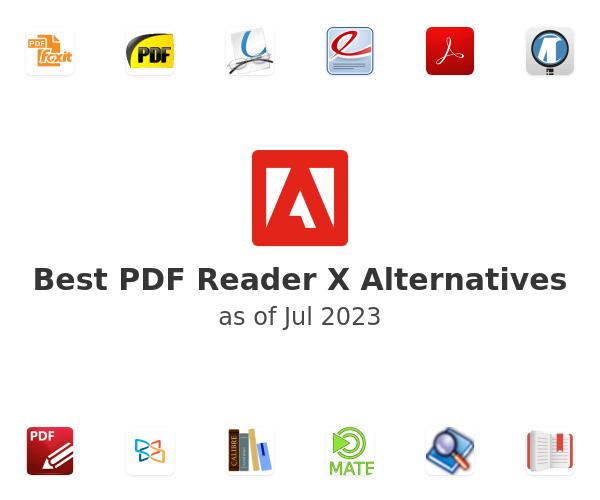Best PDF Reader X Alternatives