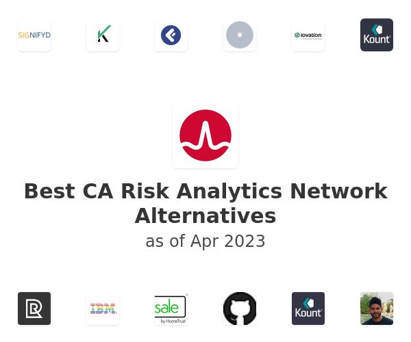 Best CA Risk Analytics Network Alternatives