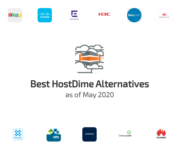 Best HostDime Alternatives