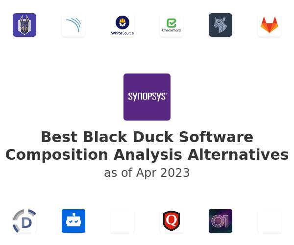 Best Black Duck Software Composition Analysis Alternatives
