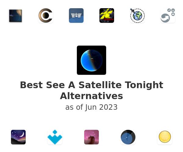 Best See A Satellite Tonight Alternatives