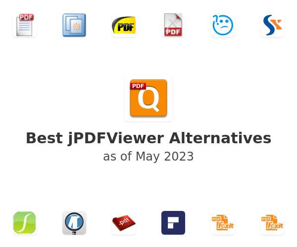 Best jPDFViewer Alternatives